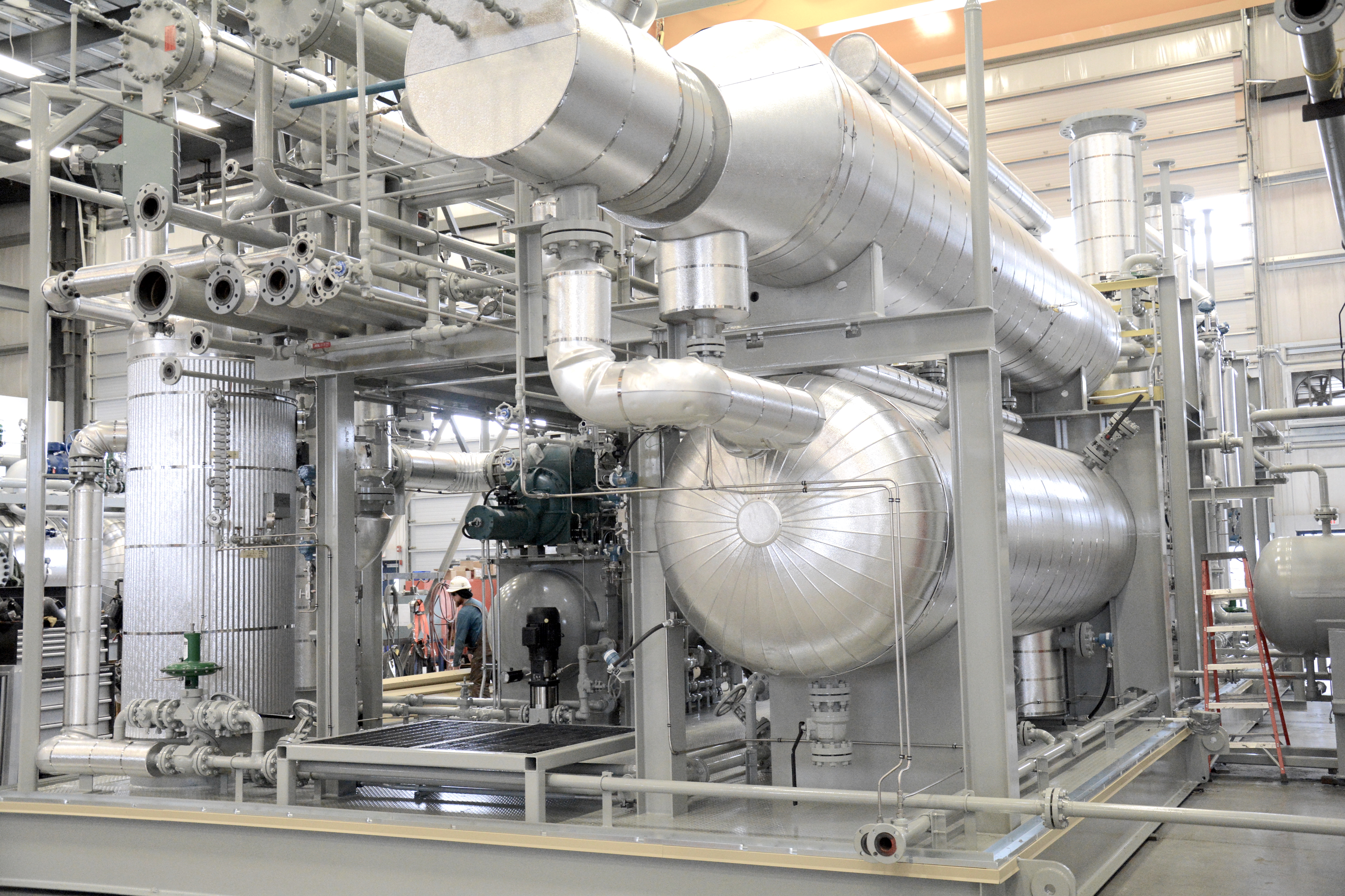 tegrating compression and process systems