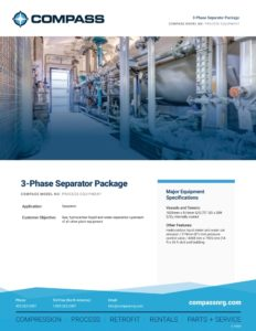 3-Phase Separator Package