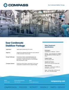 Sour Condensate Stabilizer Package