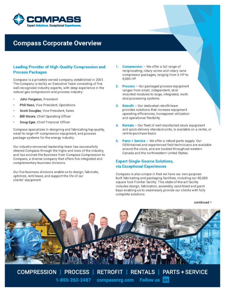 Compass - Company Overview