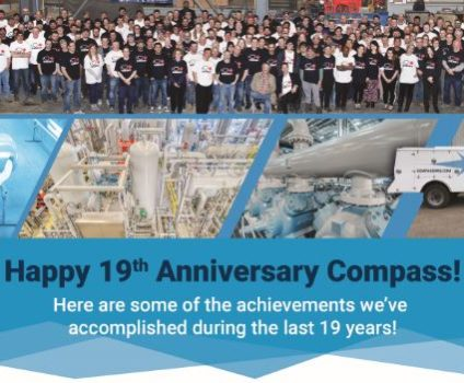 Compass Celebrates 19th Anniversary