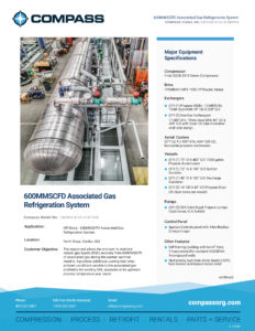 C-1183P-600MMSCFD Associated Gas Refrigeration System_Page_1