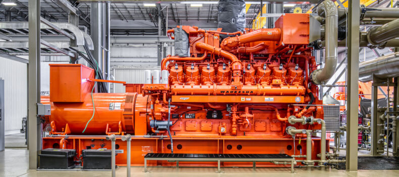 Natural Gas Powered GenSets