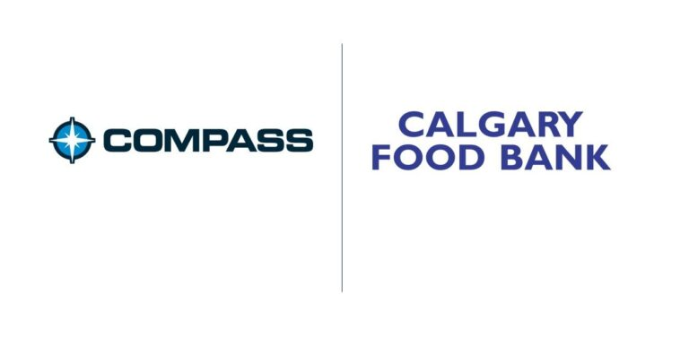 Compass donates to Calgary Food Bank