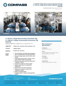 C-1079RF1 Retrofit Multiple Reciprocating Compressor Packages - Photo for website